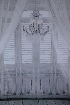 Hintergrund mit Fenster - vintage