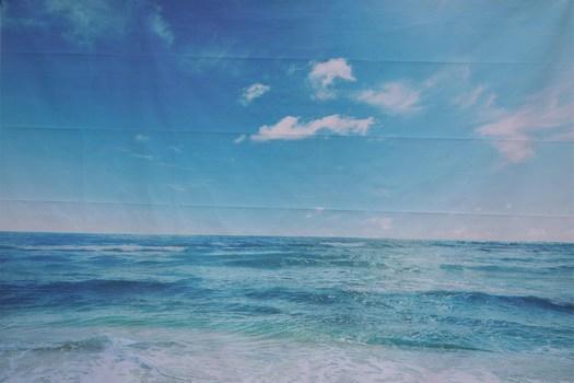 Hintergrund Meer